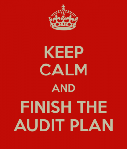 Keep Calm Audit Plan