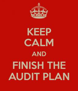 Keep Calm Audit Plan